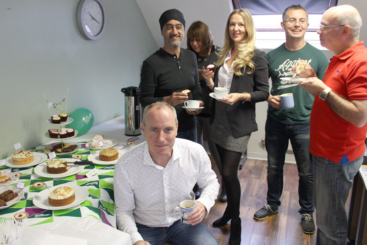 Macmillan coffee morning at The Fuel