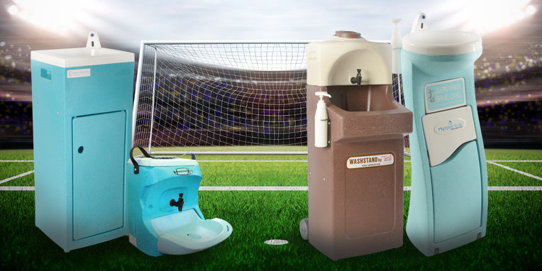 The importance of hand washing at the world cup