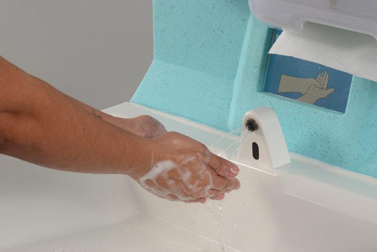 Hand hygiene celebrating Global Handwashing Day
