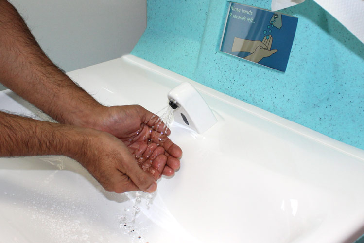 Patient centred approach for hand washing in Australian hospitals