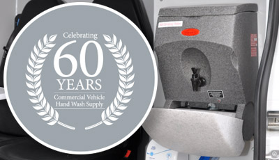 Teal celebrate 60 years of portable hand washing sinks