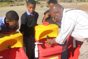 South Africa - why washing hands properly is so important