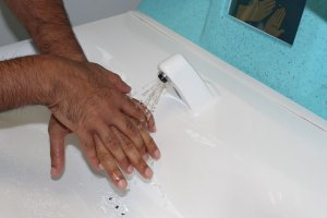 The importance of hand washing in care homes