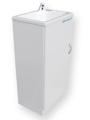 The Teal HandSpa portable hand wash unit for beauty businenesses
