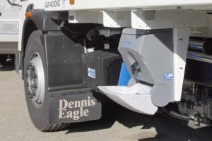 TealWash portable handwash unit for truck