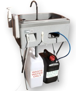 The BigSynk mobile hand and arm wash unit by Teal
