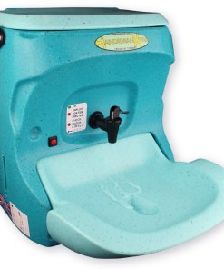 Handeman Xtra 110V portable hand wash unit with running water