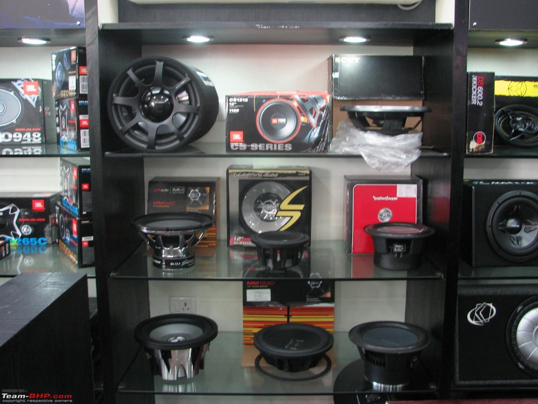 Team BHP Car Accessories Privilege Moto Mall Chennai