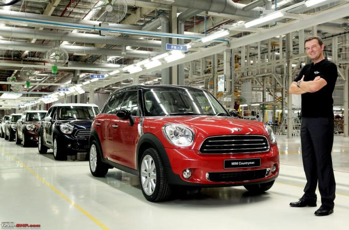 Image result for Local assembly of the Mini Countryman starts