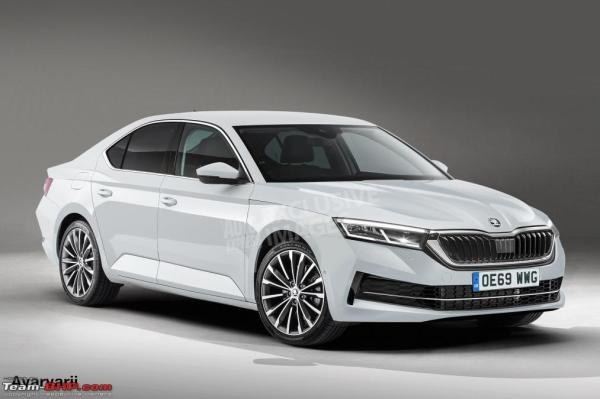 Renderings of the next-gen 2020 Skoda Octavia - Team-BHP