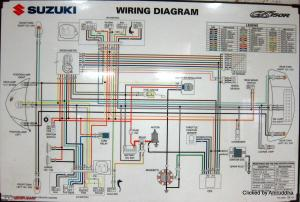 Wiring Diagram Suzuki Thunder 125  Wiring Diagram and