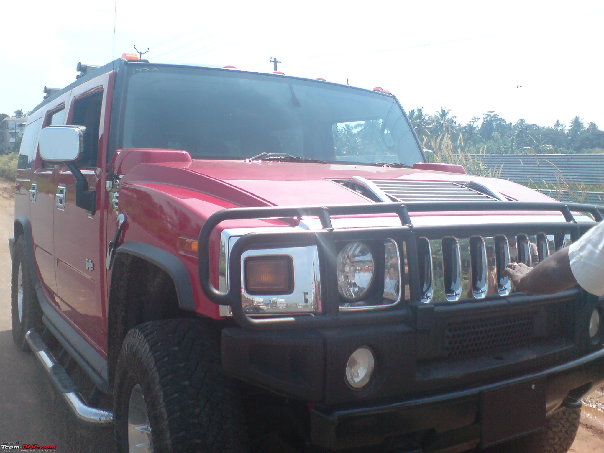 Hummer H2 spotted on Indian Streets Indian Cars