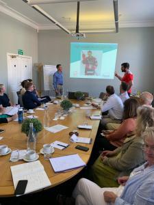 Aaron Nell Swindon Wildcats, Tim Thurston Team-i, Teamwork, Leadership workshop, Swindon
