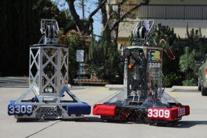 """2012 Robot- """"H.O.O.P.S"""""""