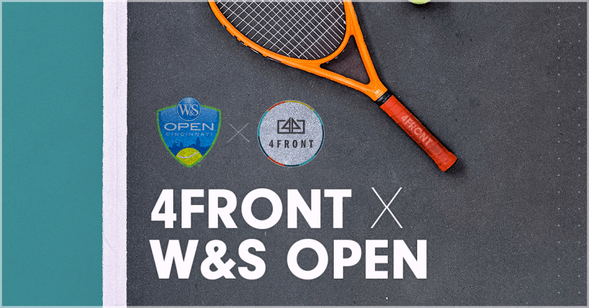 W&S Open, Western and southern open, Tennis, 4FRONT, press release, sports business press release