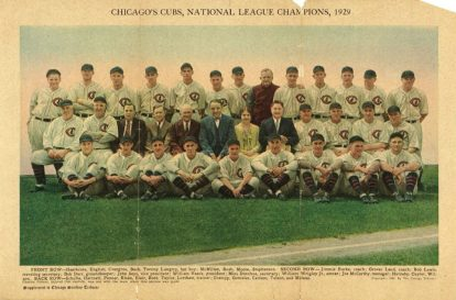 midge donahue, margaret donahue, midge podcast, be like midge, 1929 chicago cubs team picture, sports business