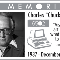 In Memoriam of Chuck  Peddle - the greatest 6502 microchip father