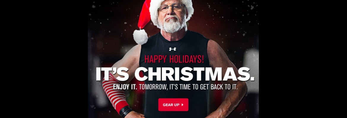 Santa Works at Under Armour Too?