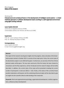 #teamagile Research Report Summer 2020