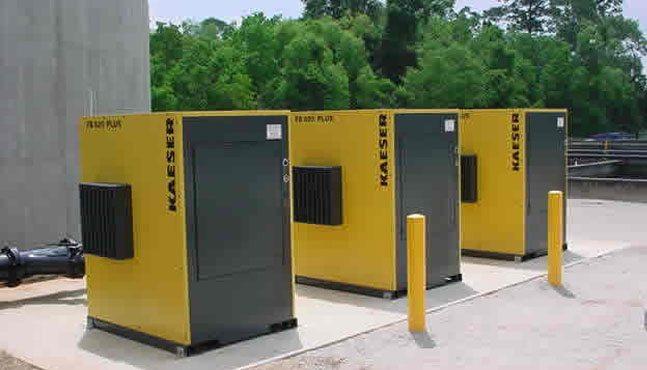 air compressor installation