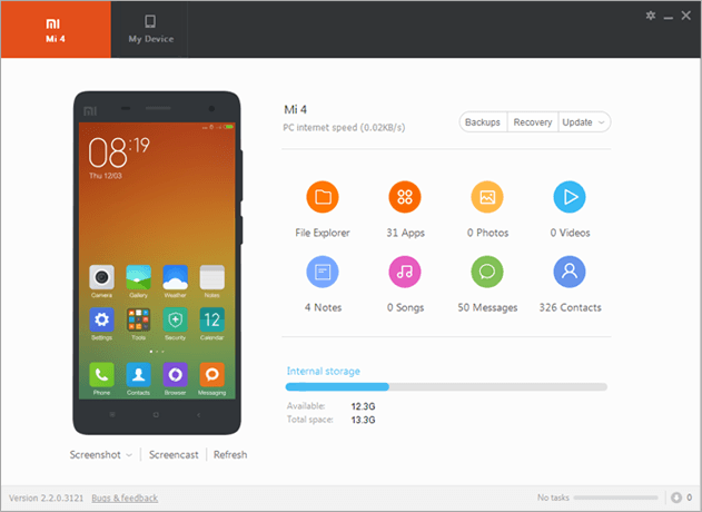 Download Xiaomi Mi PC Suite