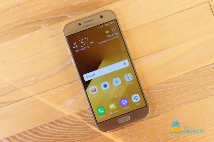 Install XXU2BQI2 Android 7.0 on Galaxy A5 A520F