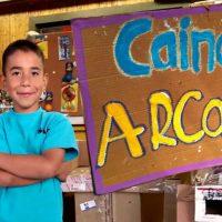 Cardboard Arcades with Caine