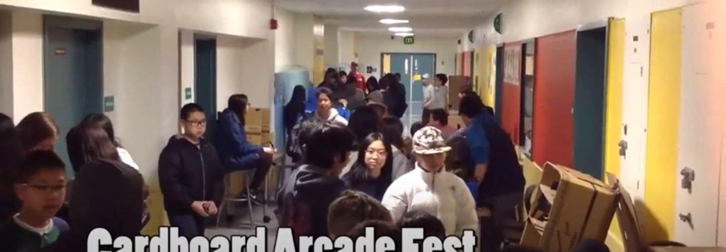 Cardboard Arcade Session