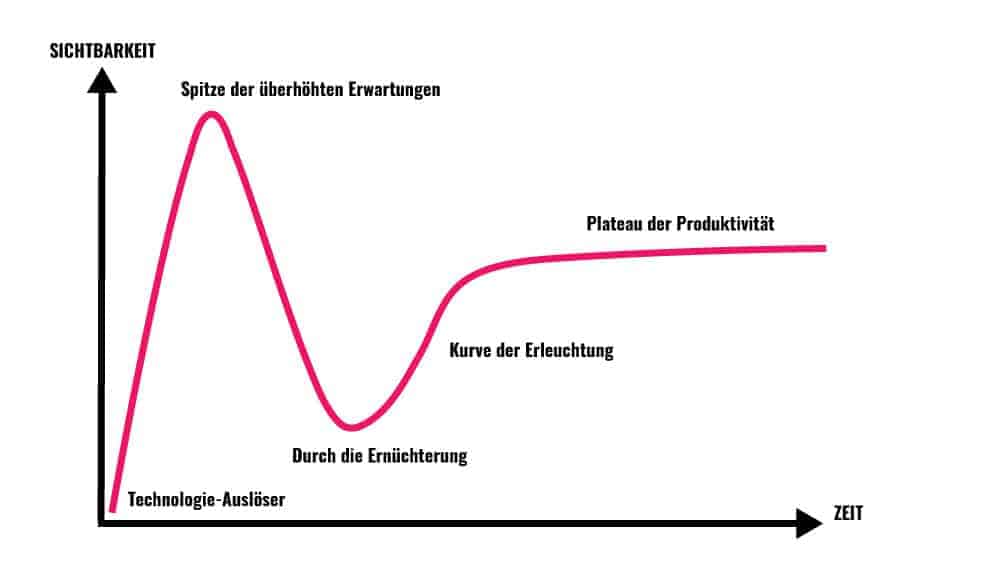 Gartner's Hype Cycle Prozess