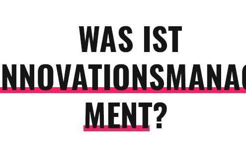 Was ist Innovationsmanagement?