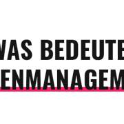 Was bedeutet Ideenmanagement?