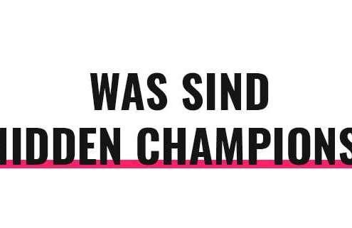 Was sind Hidden Champions?