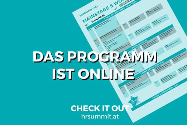 HR Inside Summit 2019 Programm ist ab jetzt online