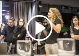 Gruppenmoderation beim Hübner & Hübner Strategieworkshop