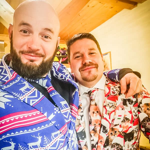 Weihnachtsoutfits für Christmasparty