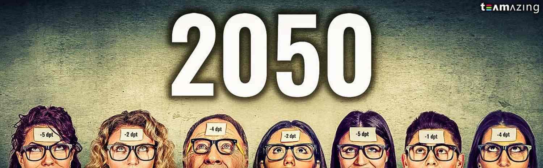 Kurzsichtigkeit 2050 dank Augenschäden am Arbeitsplatz