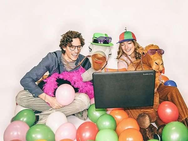 Online Karneval feiern und Spaß haben