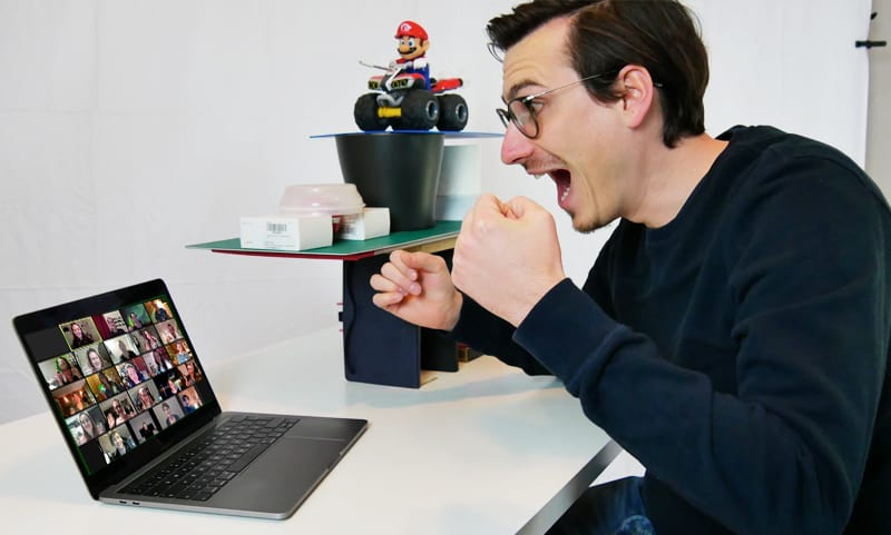 Online Team Challenge Spannung pur