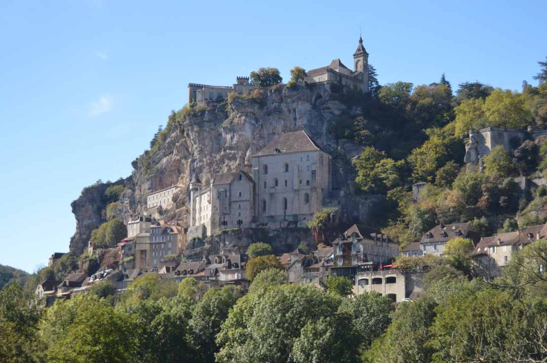 Vue sur Rocamadour