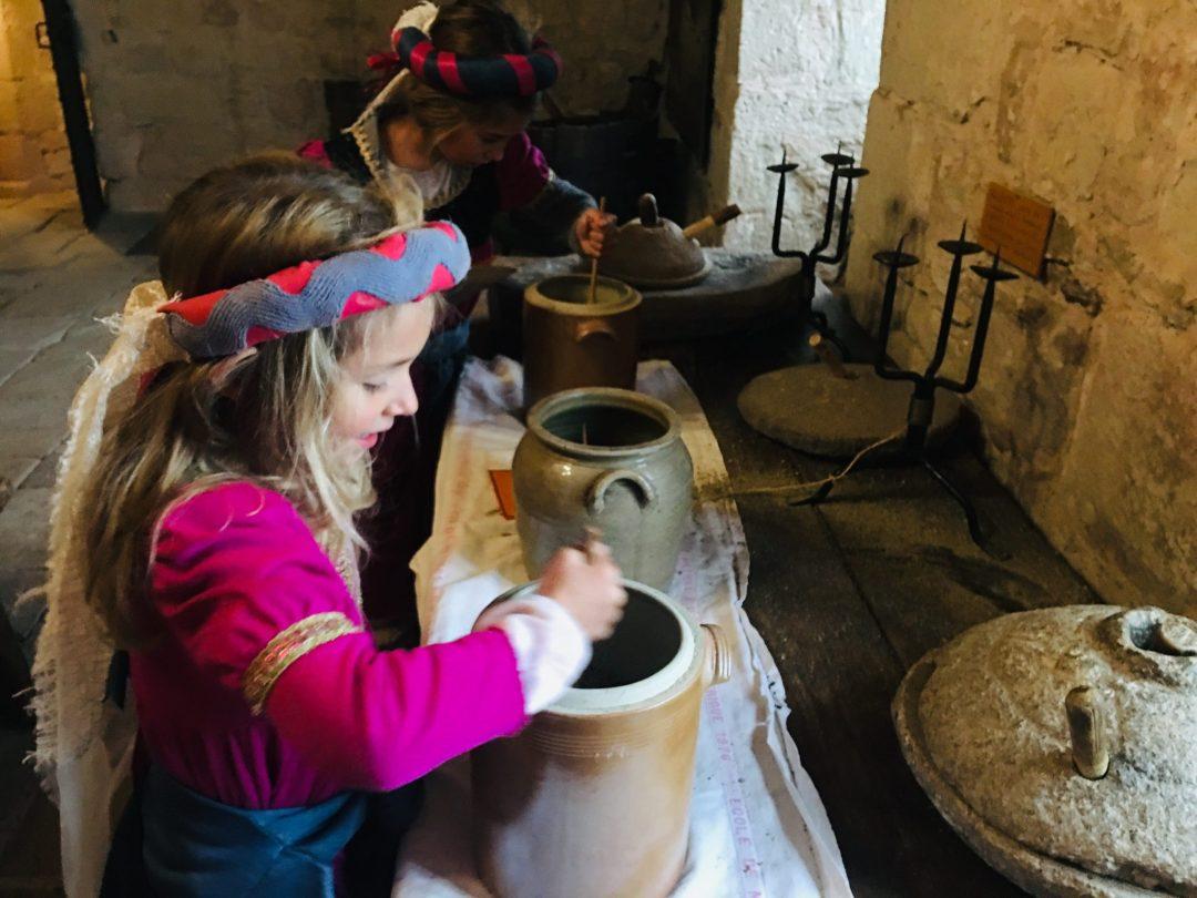 Visite déguisée Chateau de Montaigut