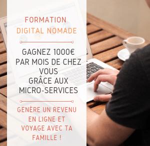 Formation micro service