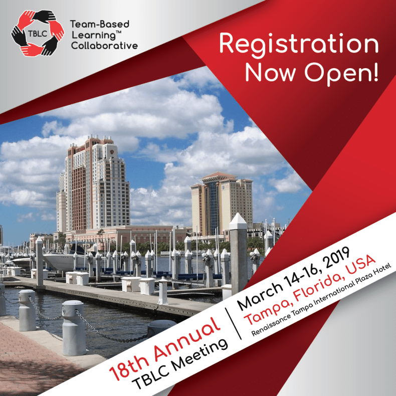 TBLC 19 Registration Open