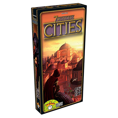 7 Wonders Cities - Cover