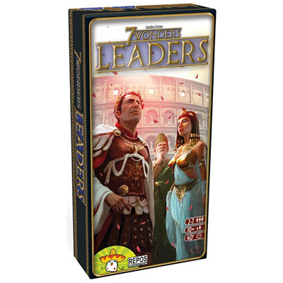 7 Wonders Leaders - Cover