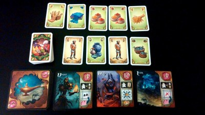 Five Tribes – Resources