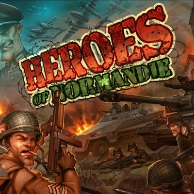 Heroes of Normandie - Cover