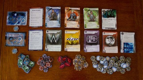 Android Netrunner – Components
