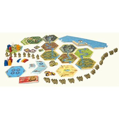 Catan Barbarians and Traders – Pieces