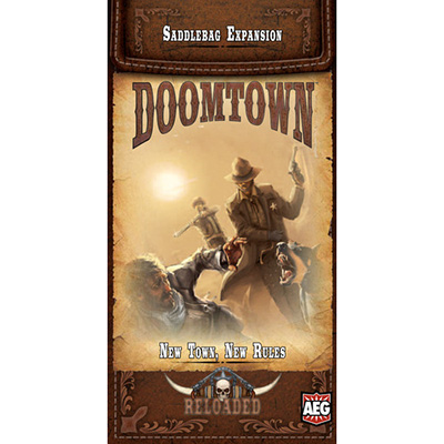 Doomtown Reloaded New Town, New Rules – Cover