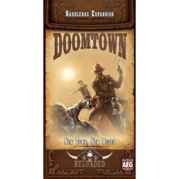 Doomtown Reloaded New Town, New Rules - Cover